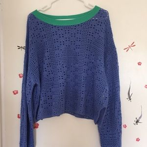 Free people cotton sweater 💖💖💖💖💖